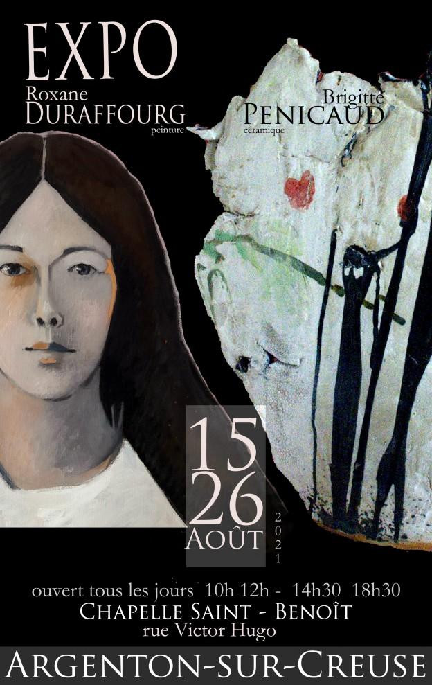 affiche argenton expo Roxane Duraffourg